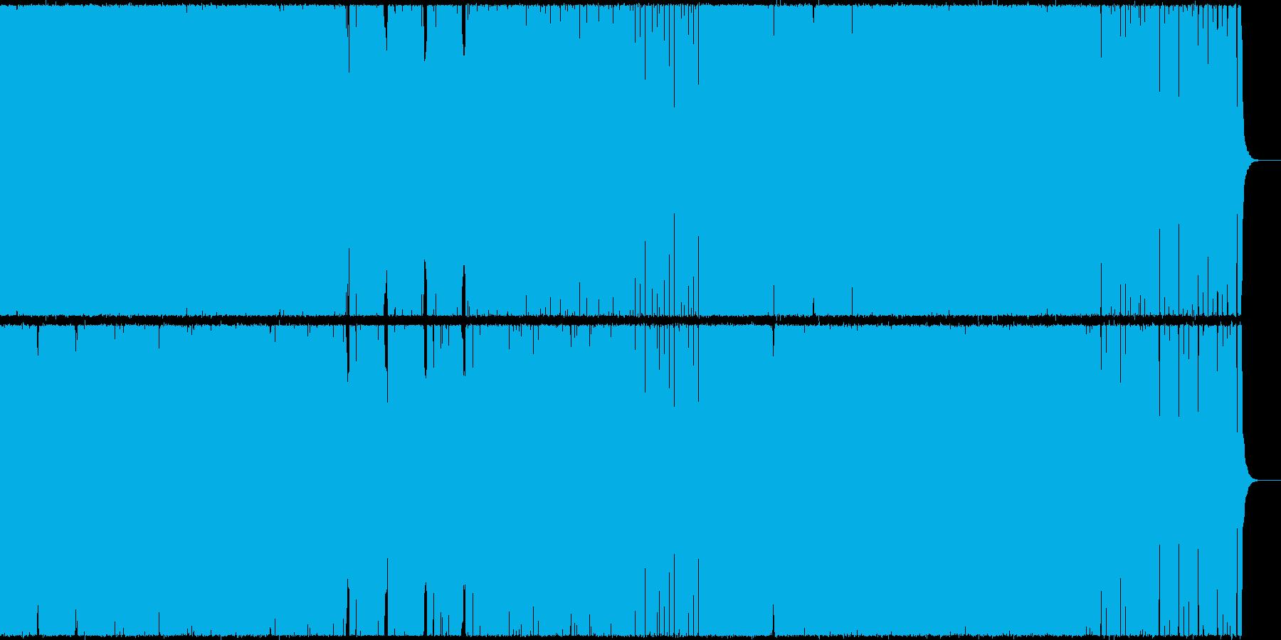 王道ダンス・ミュージック(EDM)の再生済みの波形