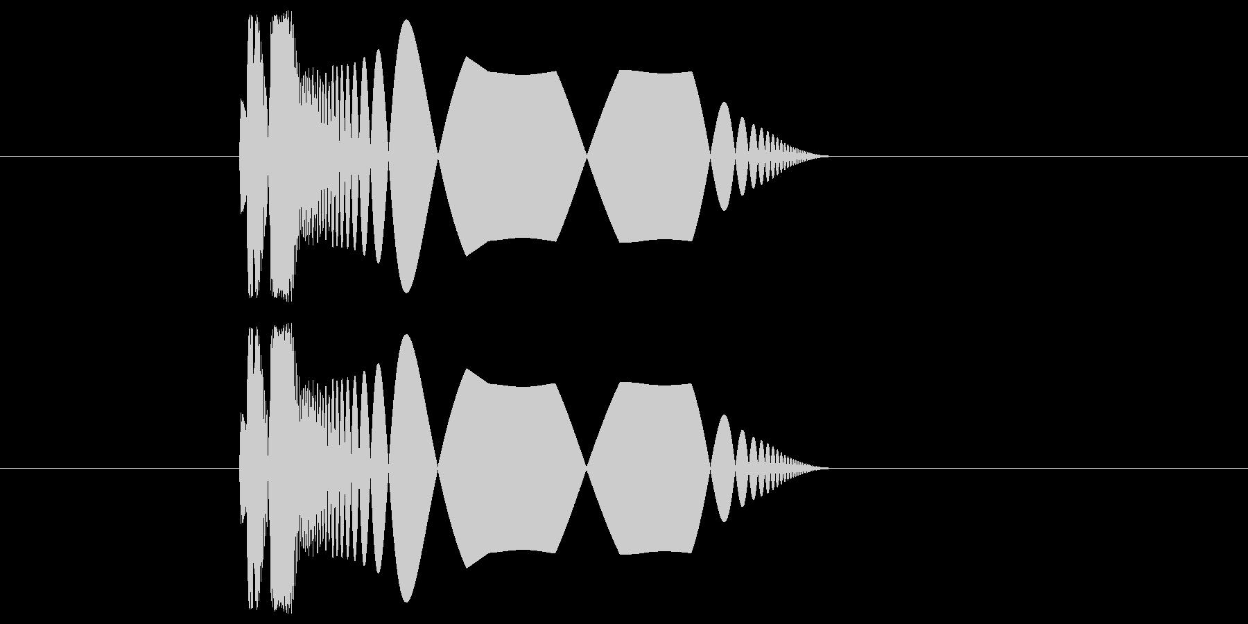 プチュ!【やわらかい音】の未再生の波形