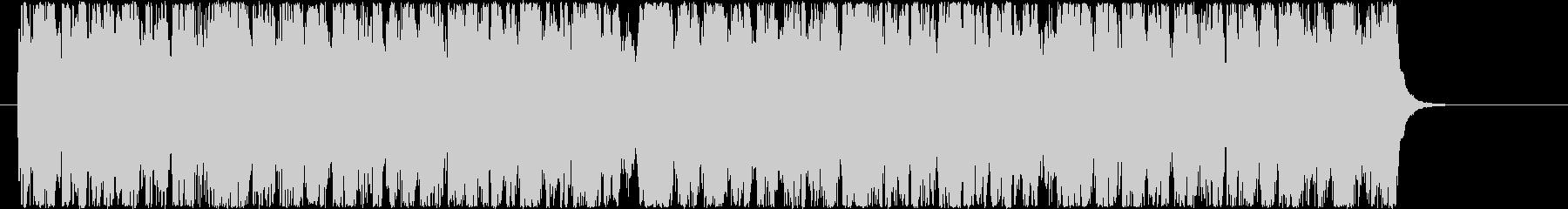 「交響曲第9番」ベートーベン の未再生の波形