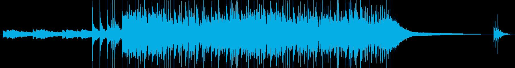 アニメ風のオープニング用ジングルの再生済みの波形