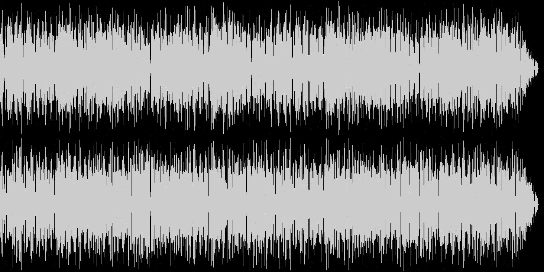 不思議な感じの音楽の未再生の波形