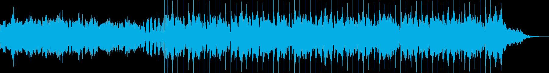 インスタ等ショートムービ向けEDMポップの再生済みの波形