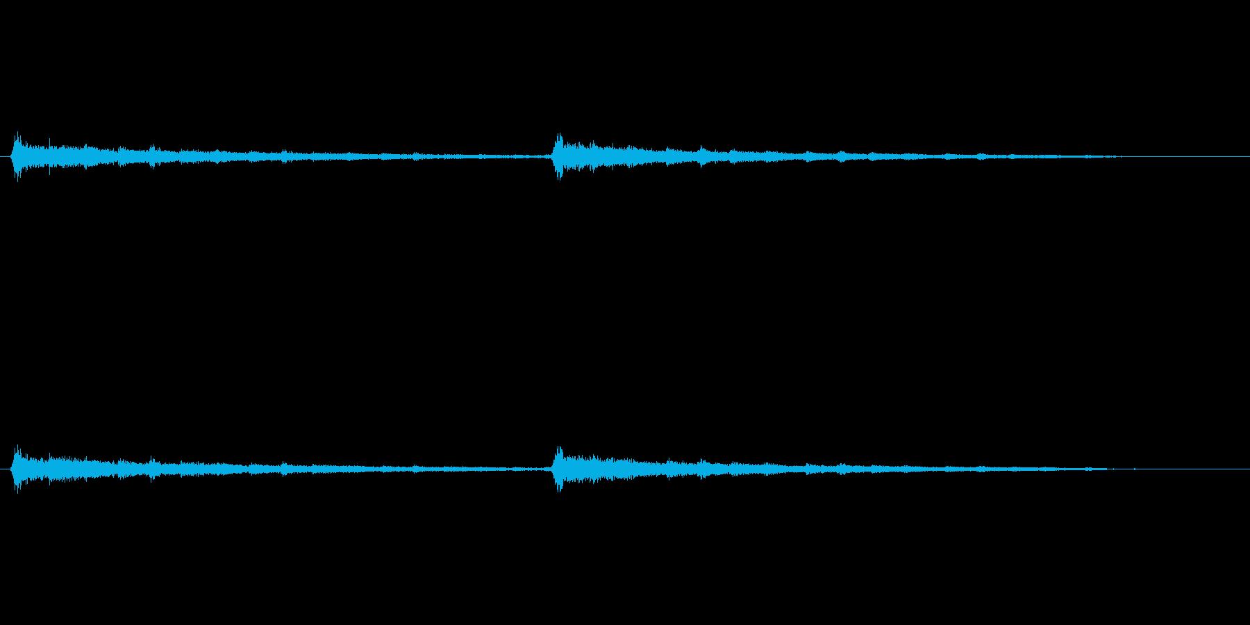 コント等の場面転換で使われそうなギターの再生済みの波形
