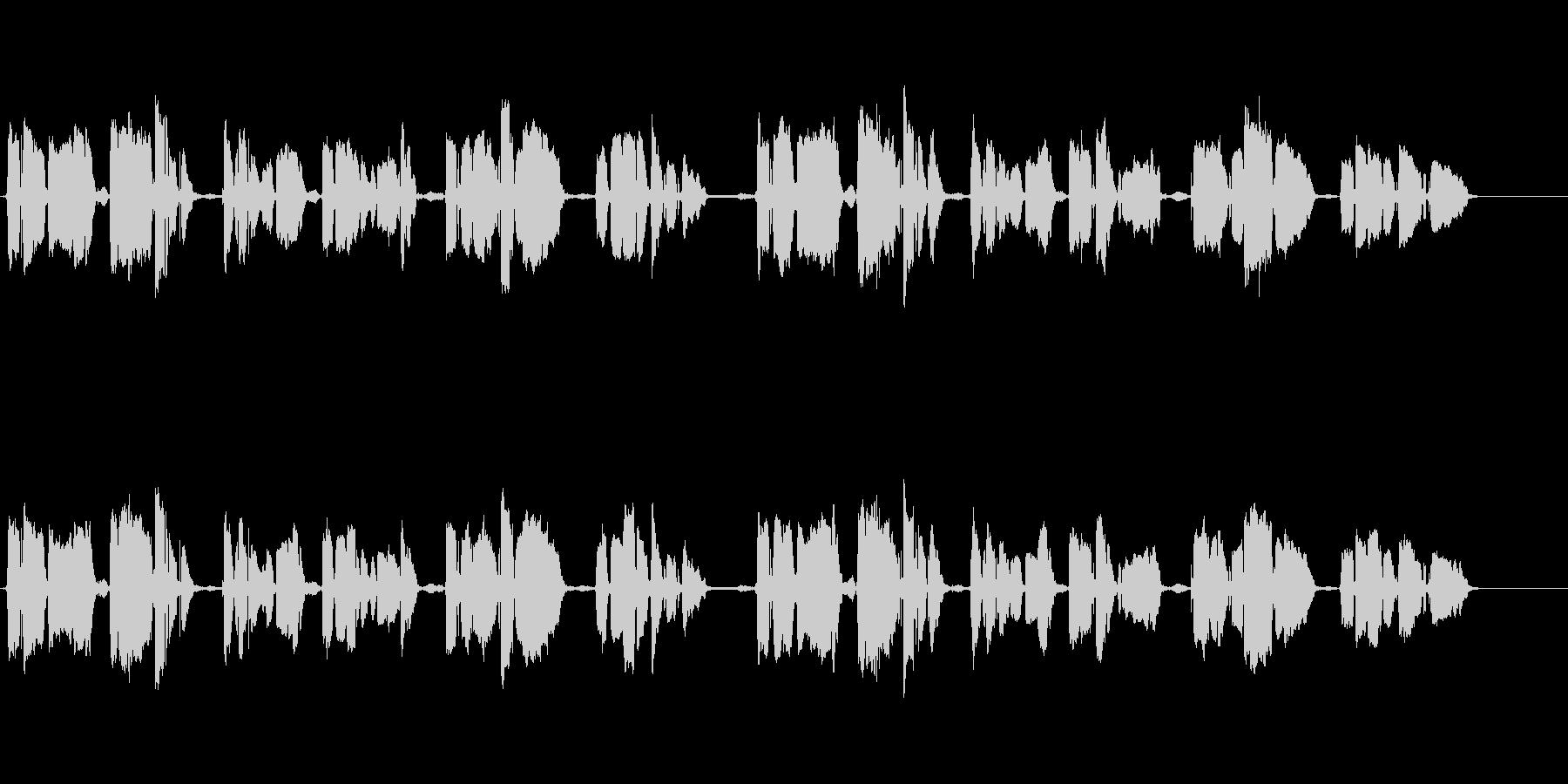 ペチカ アカペラ 癒しボイスの未再生の波形