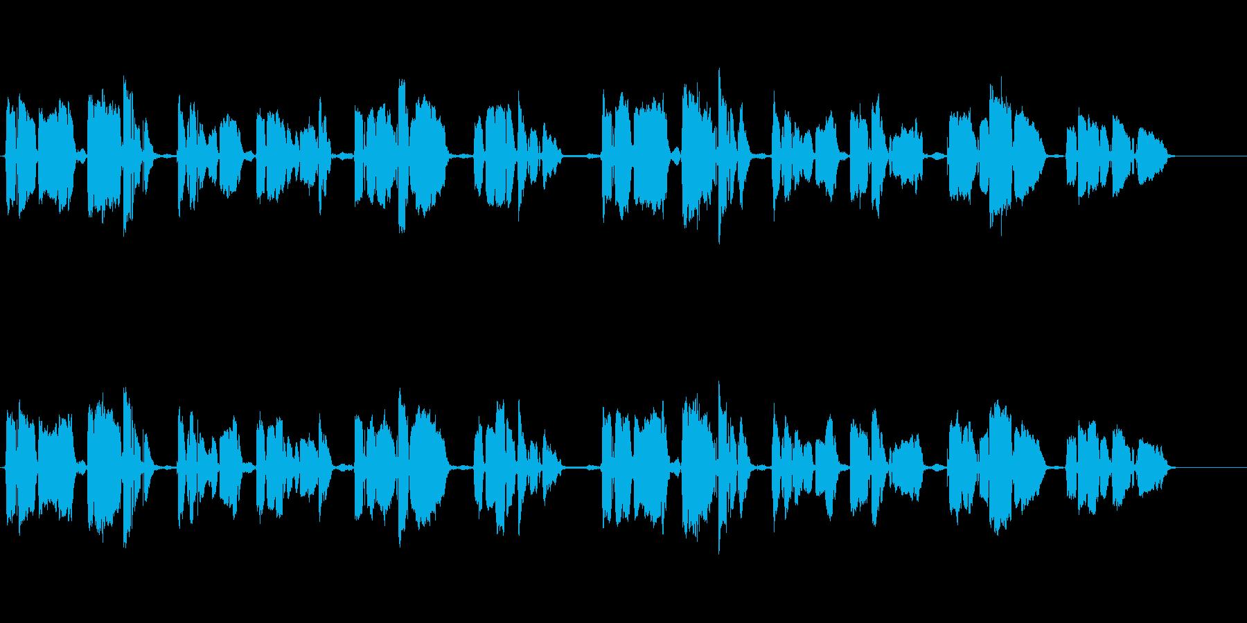 ペチカ アカペラ 癒しボイスの再生済みの波形