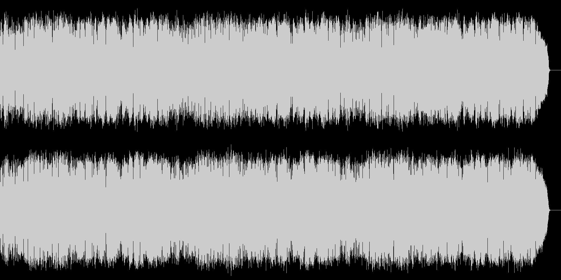 情熱的でメロディアスな8ビートの昭和歌謡の未再生の波形
