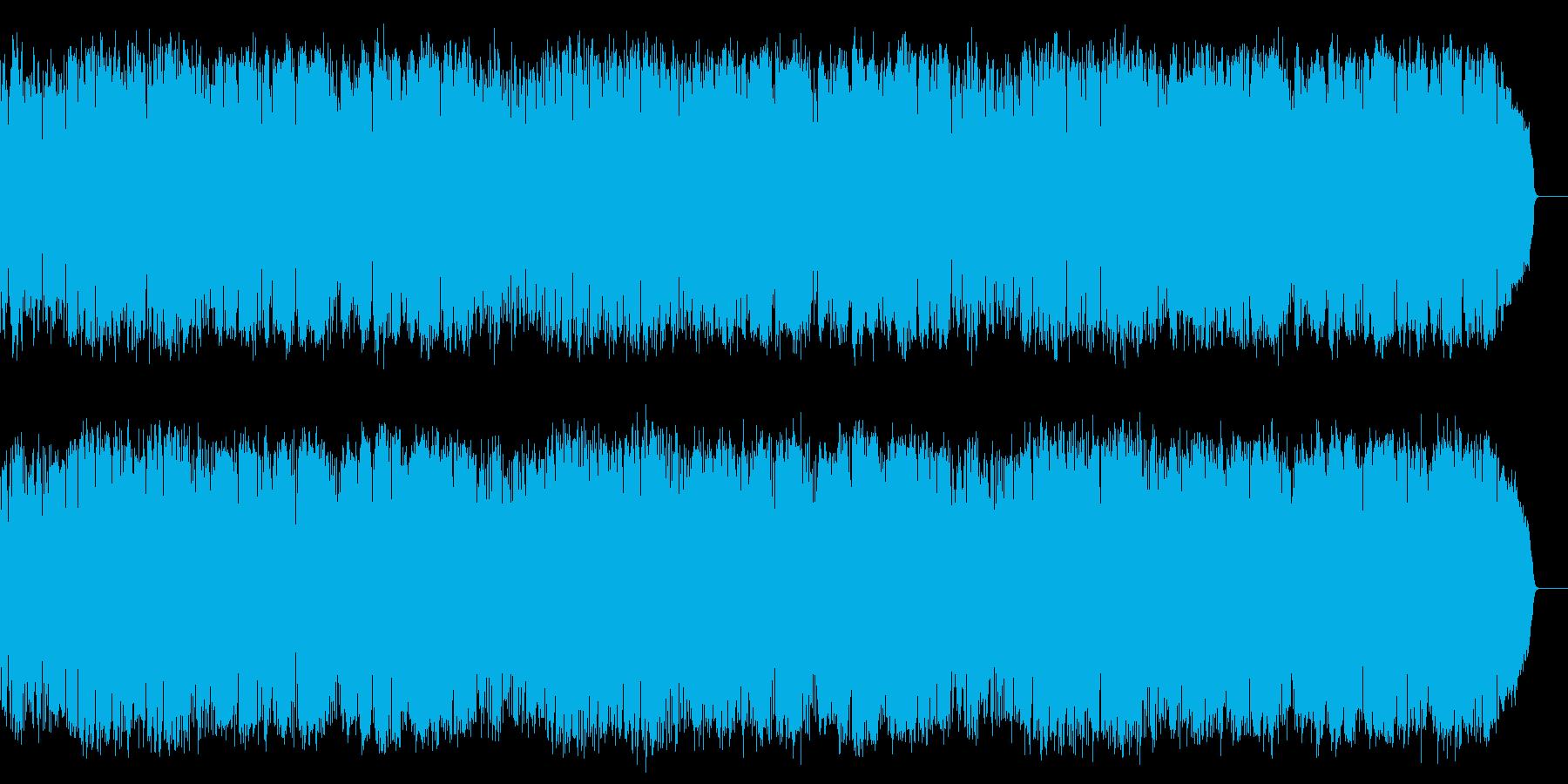 情熱的でメロディアスな8ビートの昭和歌謡の再生済みの波形