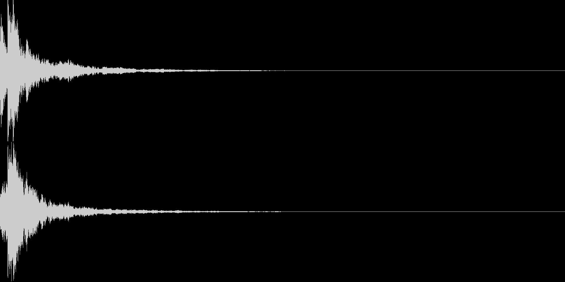 明るいテロップ音 ボタン音 決定音 25の未再生の波形
