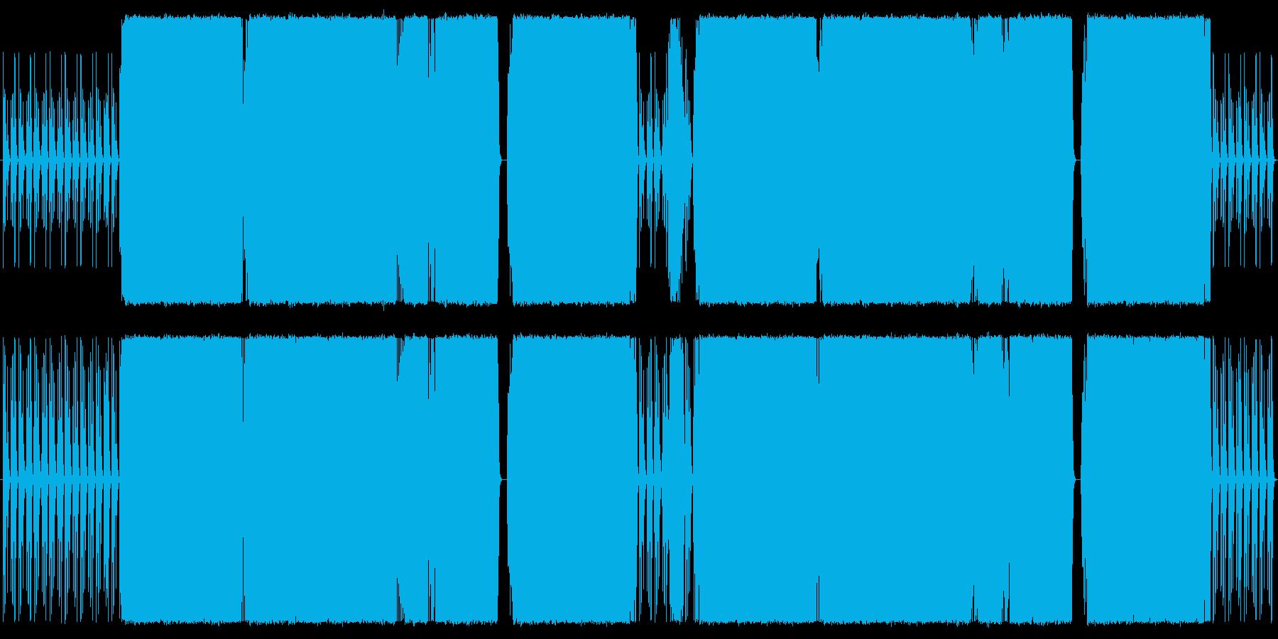 RPG。ストリングス使用の再生済みの波形