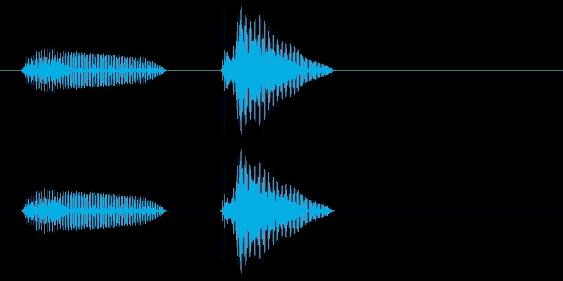 あんちゃん・兄ちゃん(2歳児の生声です)の再生済みの波形
