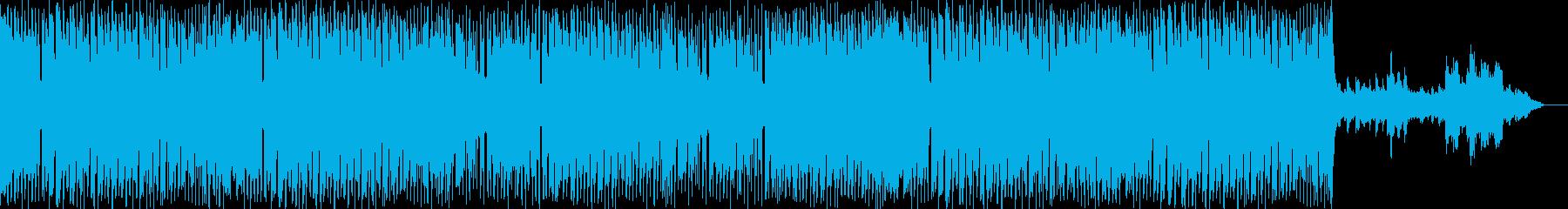 ヒューマンドラマ系に使われそうなBGMの再生済みの波形