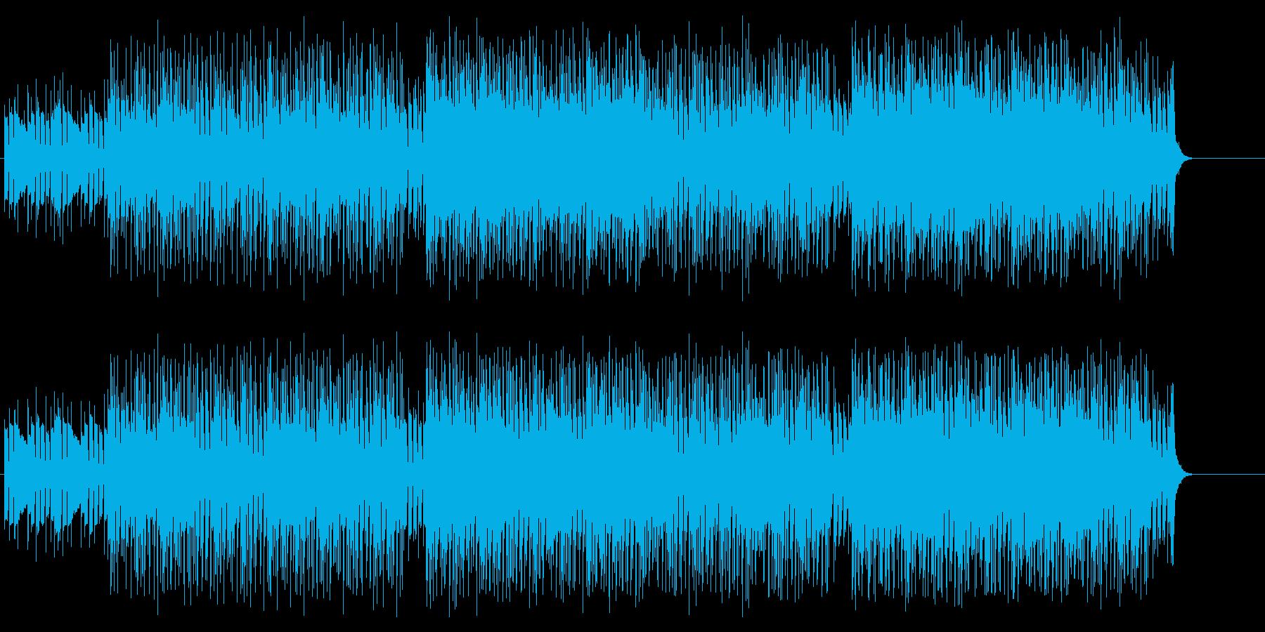 セクシーなダンスサウンドの再生済みの波形