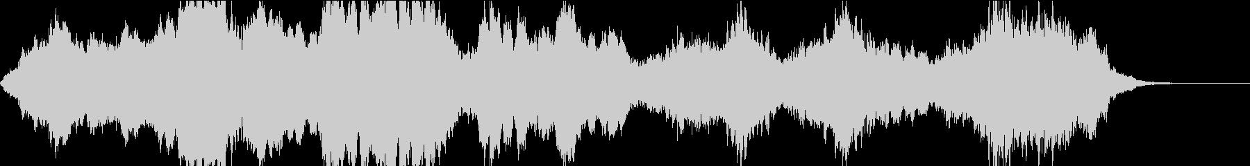 怖い映像BGM/ハロウィン/恐怖/ホラーの未再生の波形