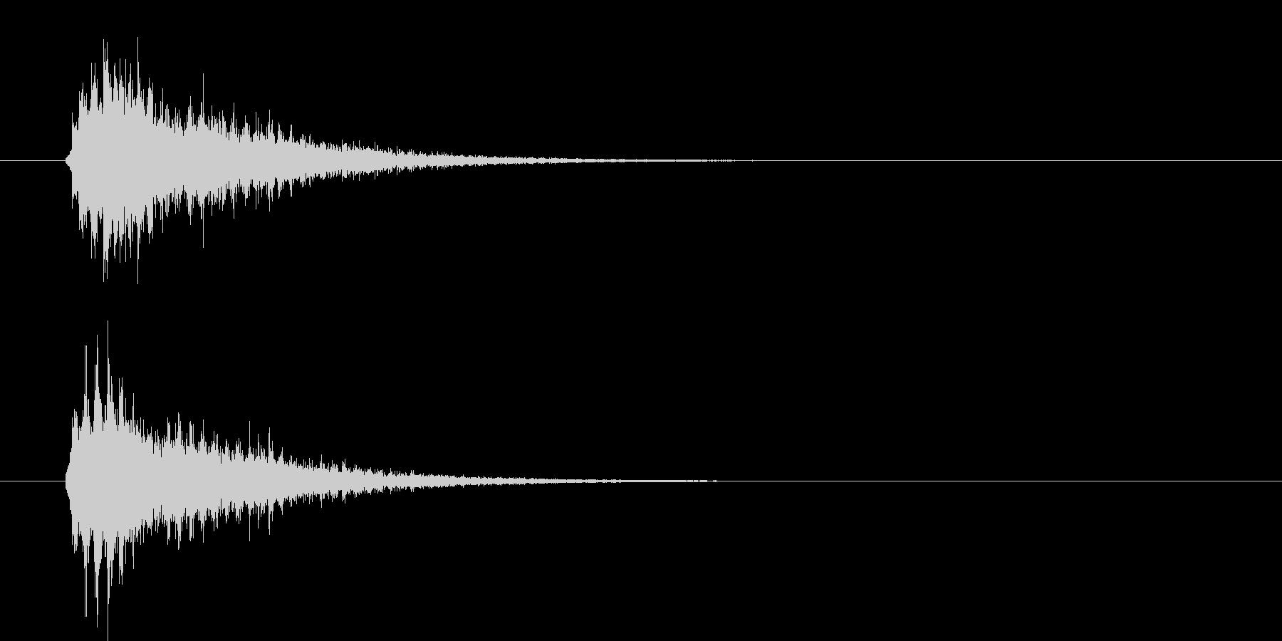 【シュイン】出現 ワープ 発動 瞬間移動の未再生の波形