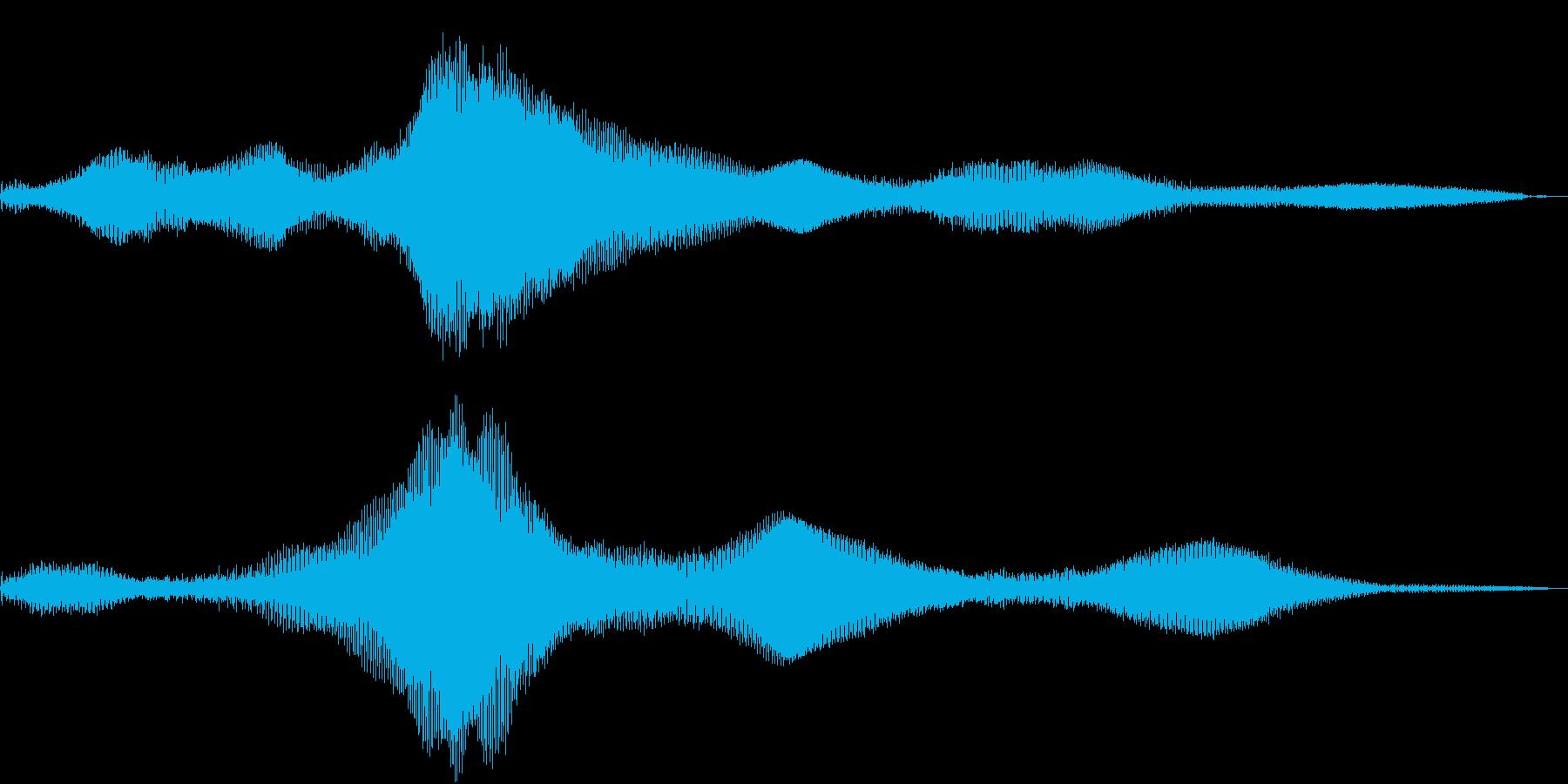 Electron Pad ダーティーの再生済みの波形