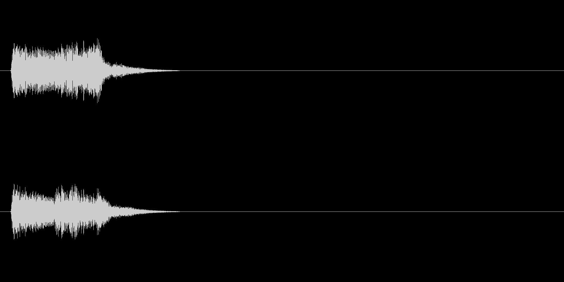 【ポップモーション01-2】の未再生の波形