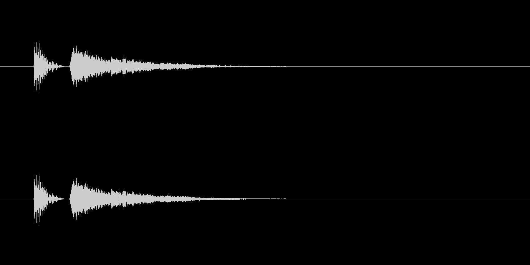 【びっくり05-1】の未再生の波形