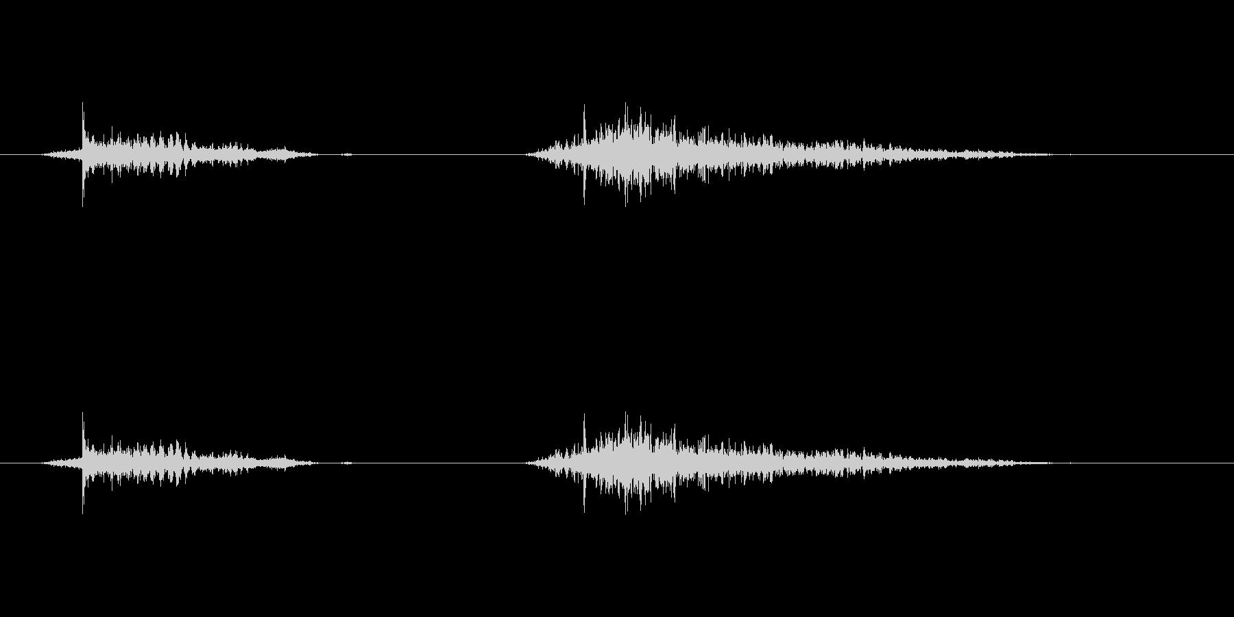 (いびき_2)の未再生の波形
