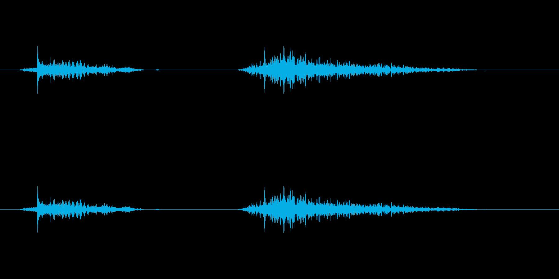 (いびき_2)の再生済みの波形