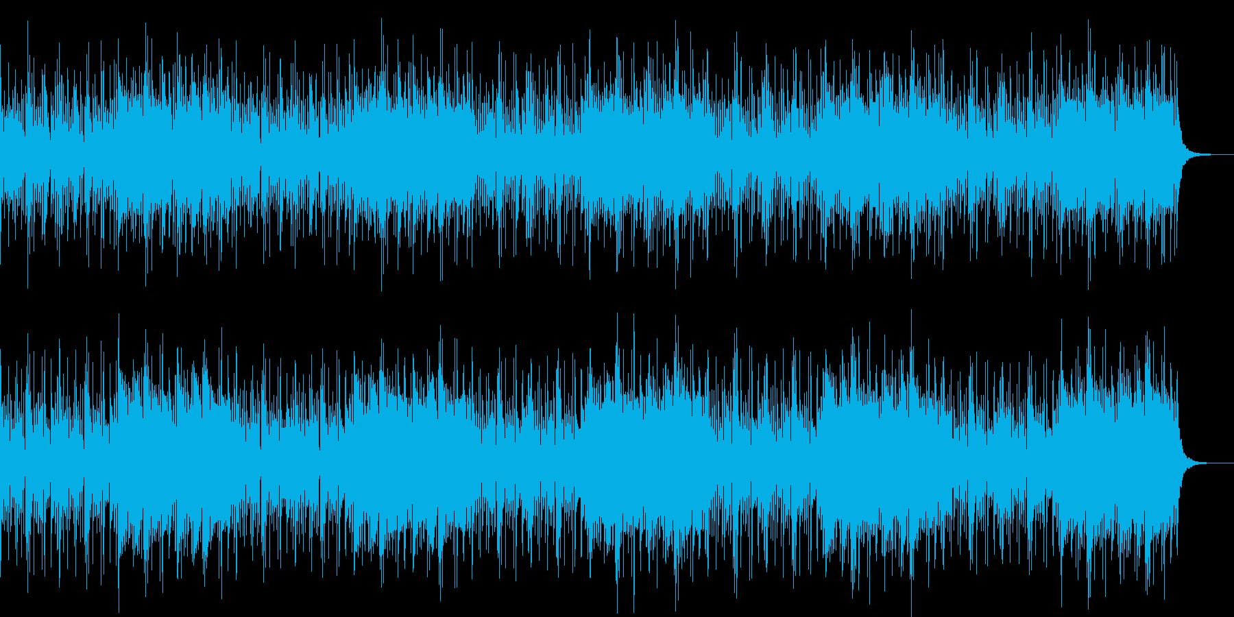 民族ボイス風のみの再生済みの波形