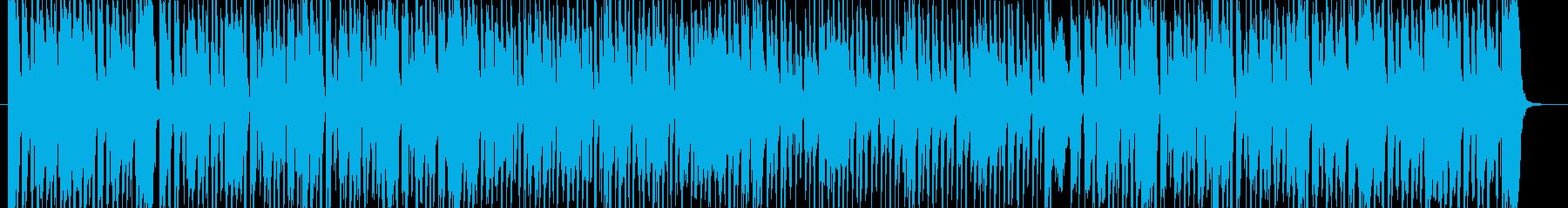 ピアノがスタイリッシュなBGMの再生済みの波形