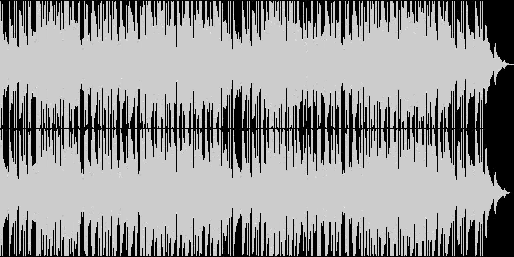 うねるように漂うチルウェーブの未再生の波形