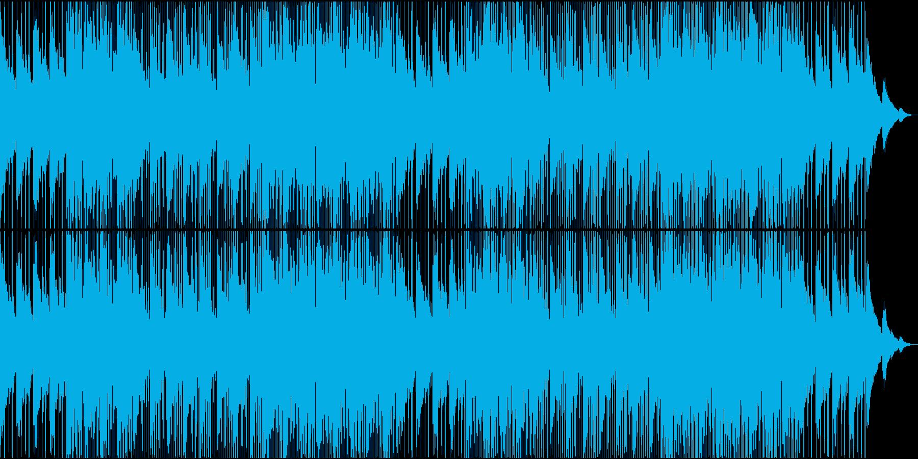 うねるように漂うチルウェーブの再生済みの波形