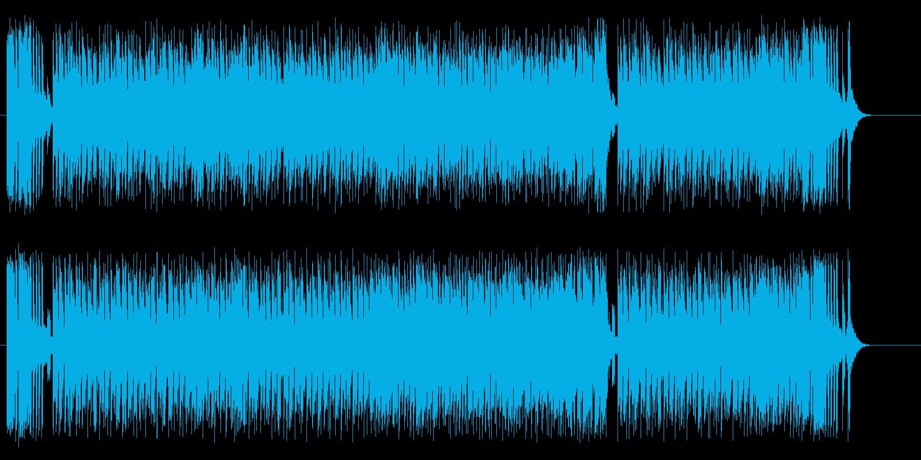 元気で楽しいコミカル・ミュージックの再生済みの波形