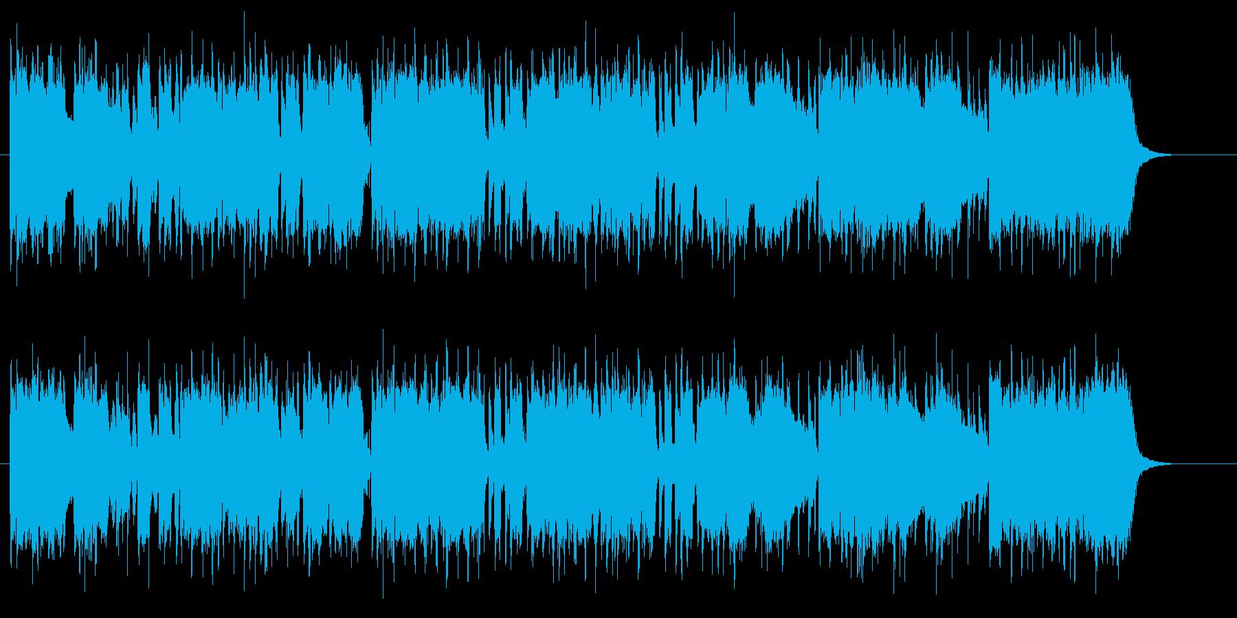 70s西海岸ギターロックの再生済みの波形
