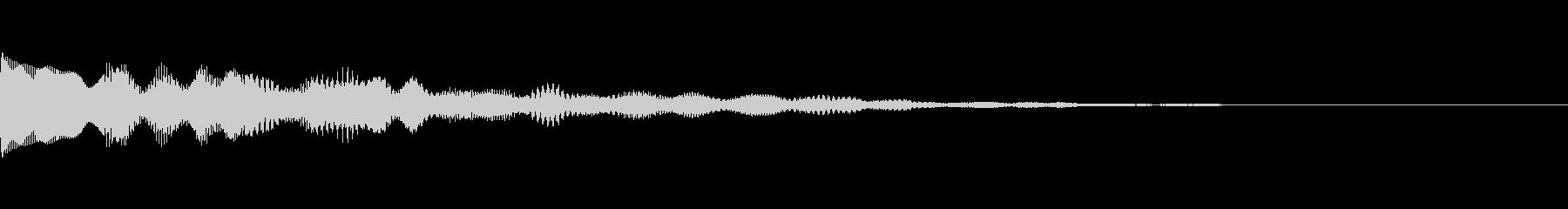 ピロロロロ、トゥルルルル、デリリリ音の未再生の波形