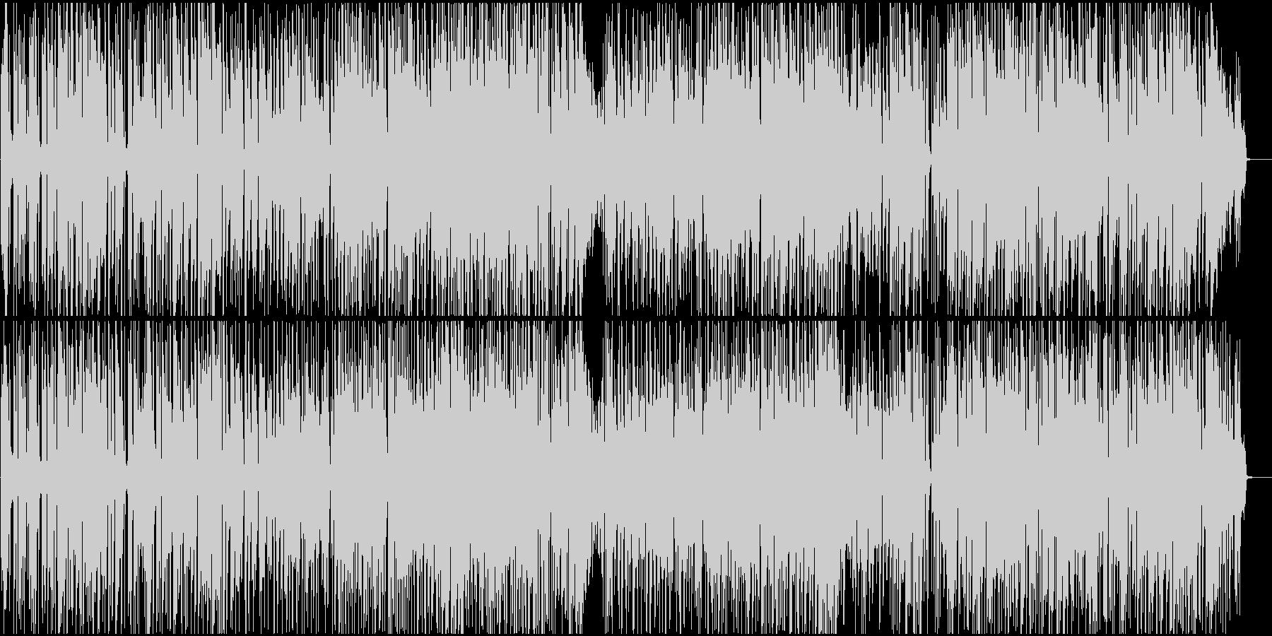 オープニングBGM印象大の爽やかファンクの未再生の波形