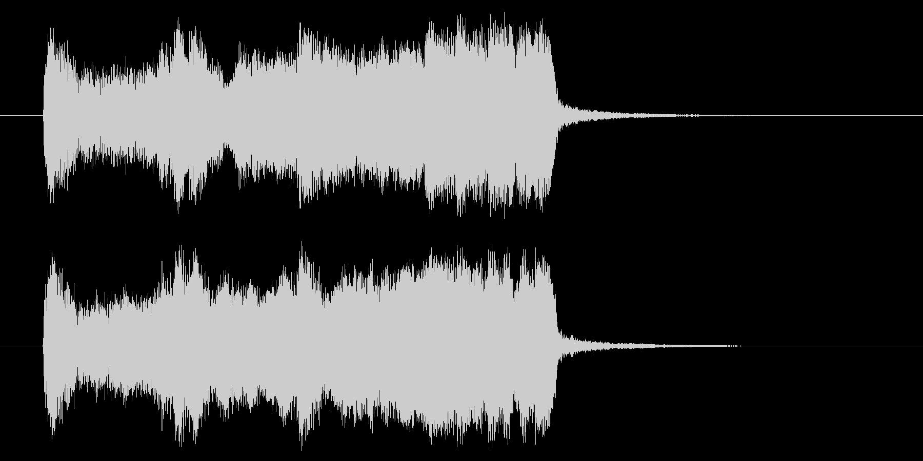勢いと楽しげなギターサウンド(短め)の未再生の波形