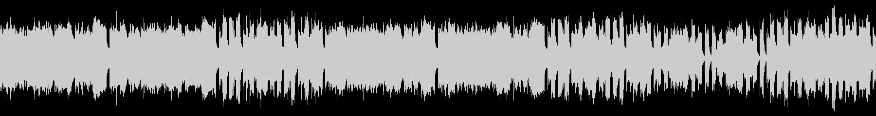 ループ素材 ほのぼのとしたゲーム音楽の未再生の波形