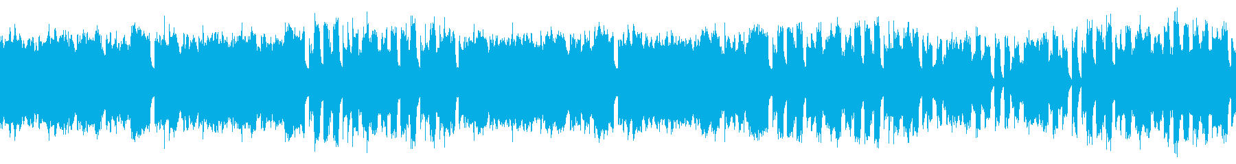 ループ素材 ほのぼのとしたゲーム音楽の再生済みの波形