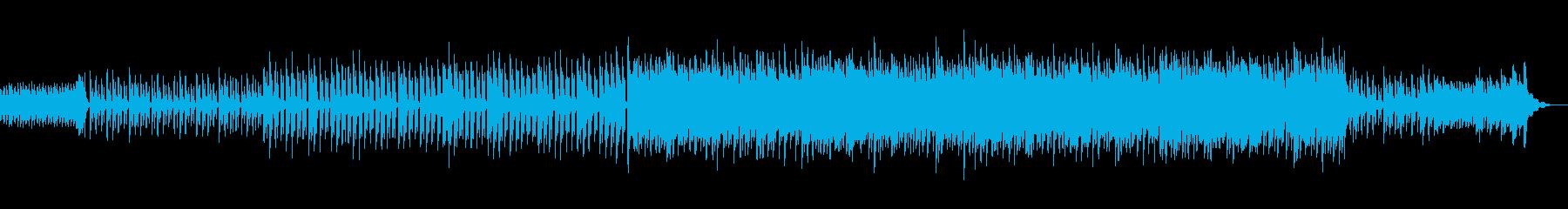 和風琴明るい幻想透明企業VP水テクノの再生済みの波形
