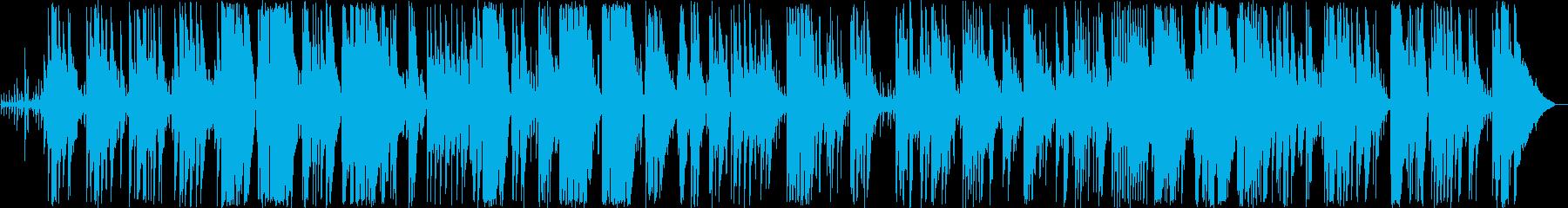 優しいピアノ弦楽器などのボサノヴァの再生済みの波形