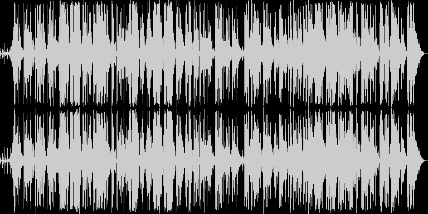 優しいピアノ弦楽器などのボサノヴァの未再生の波形