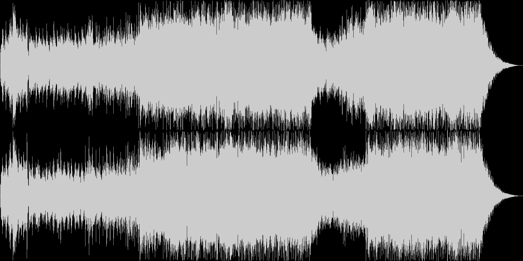 パッヘルベルのカノン ギターアレンジ版の未再生の波形