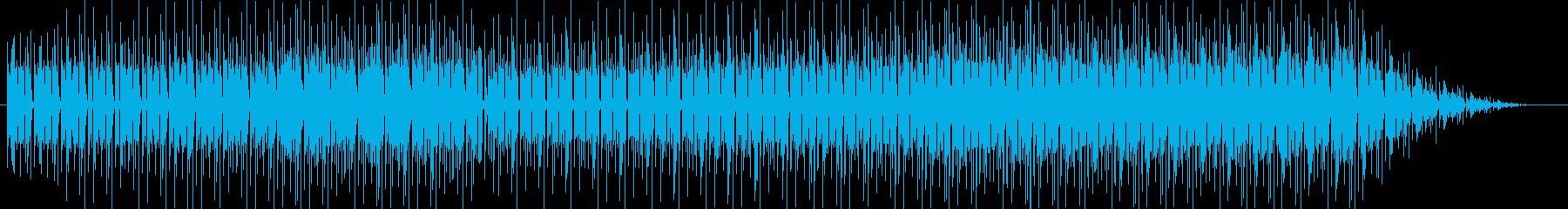ミニゲーム風、コミカルで可愛らしいポッ…の再生済みの波形