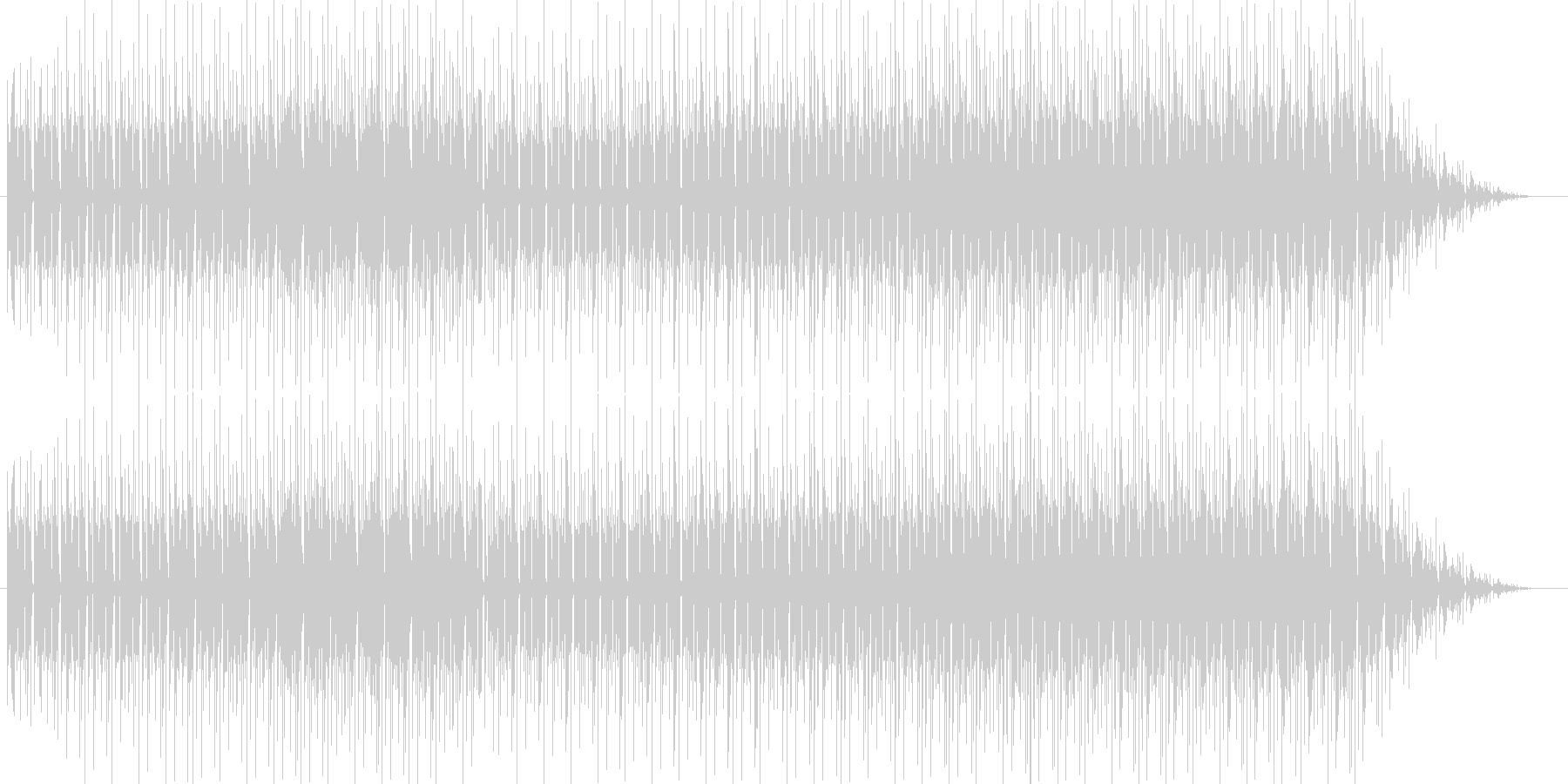 ミニゲーム風、コミカルで可愛らしいポッ…の未再生の波形