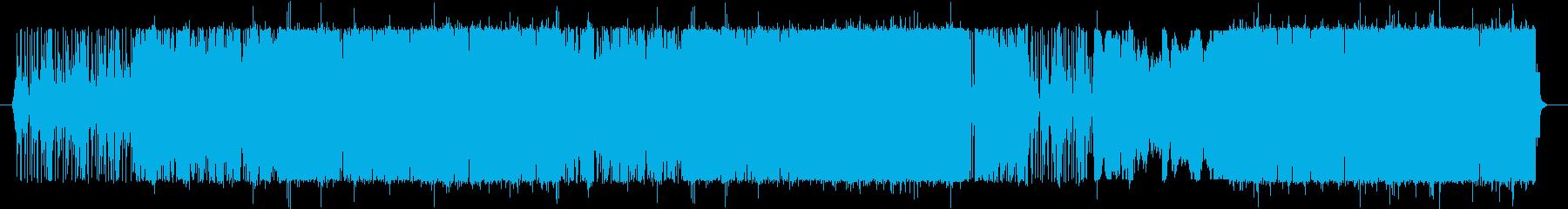 エレクトリックにディープに。の再生済みの波形
