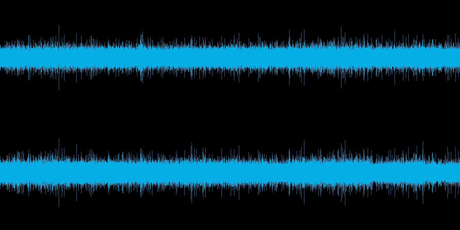 本物の川の音です。4分47秒あります。…の再生済みの波形