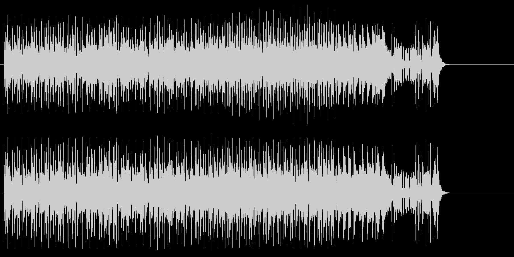 淡々としたポップ(A~B~サビ~イン…)の未再生の波形