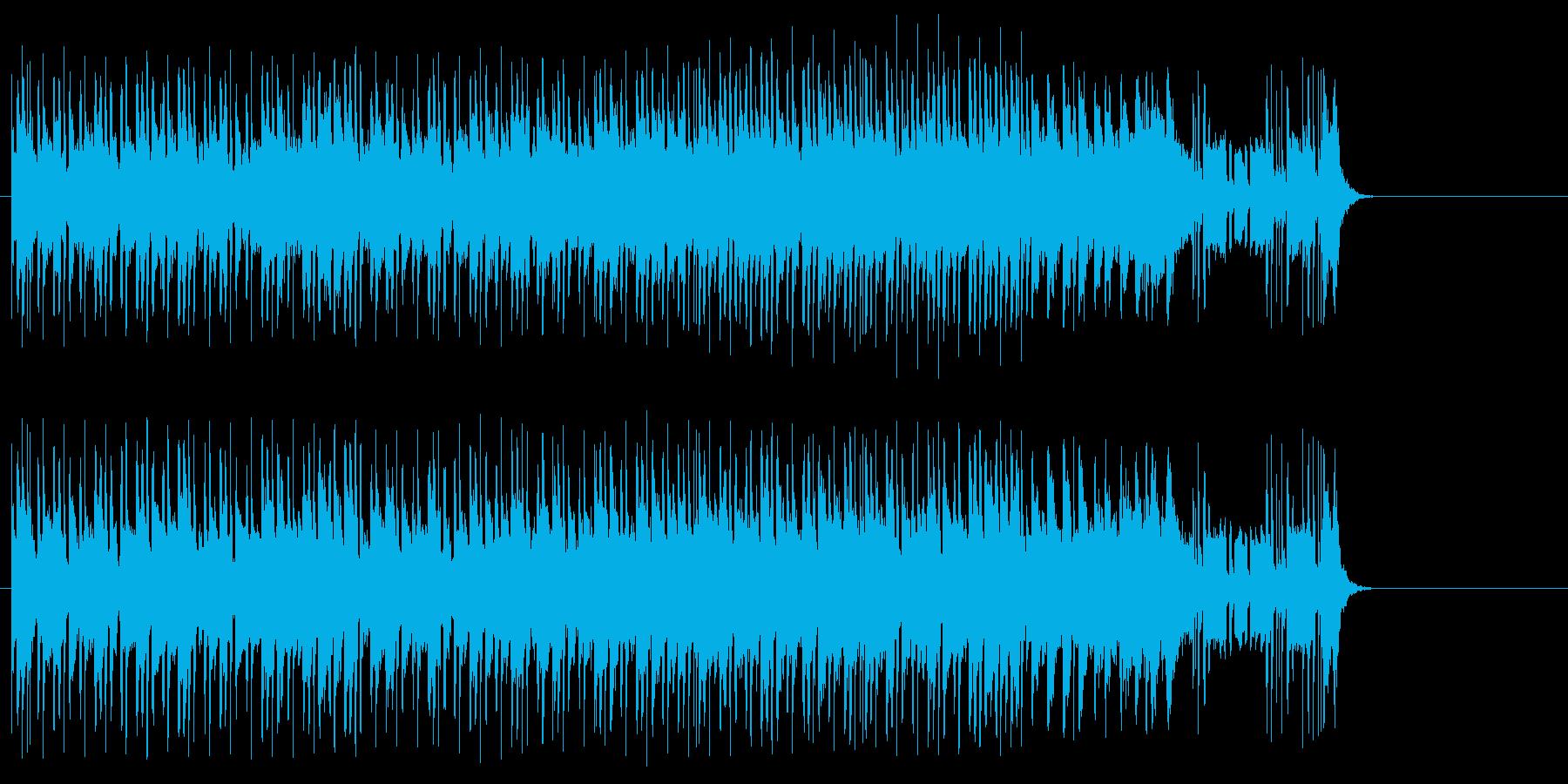 淡々としたポップ(A~B~サビ~イン…)の再生済みの波形