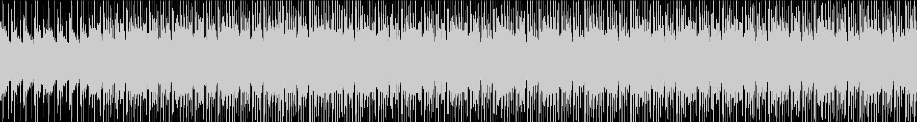 【ループ】クラップとピアノが印象的なおしの未再生の波形