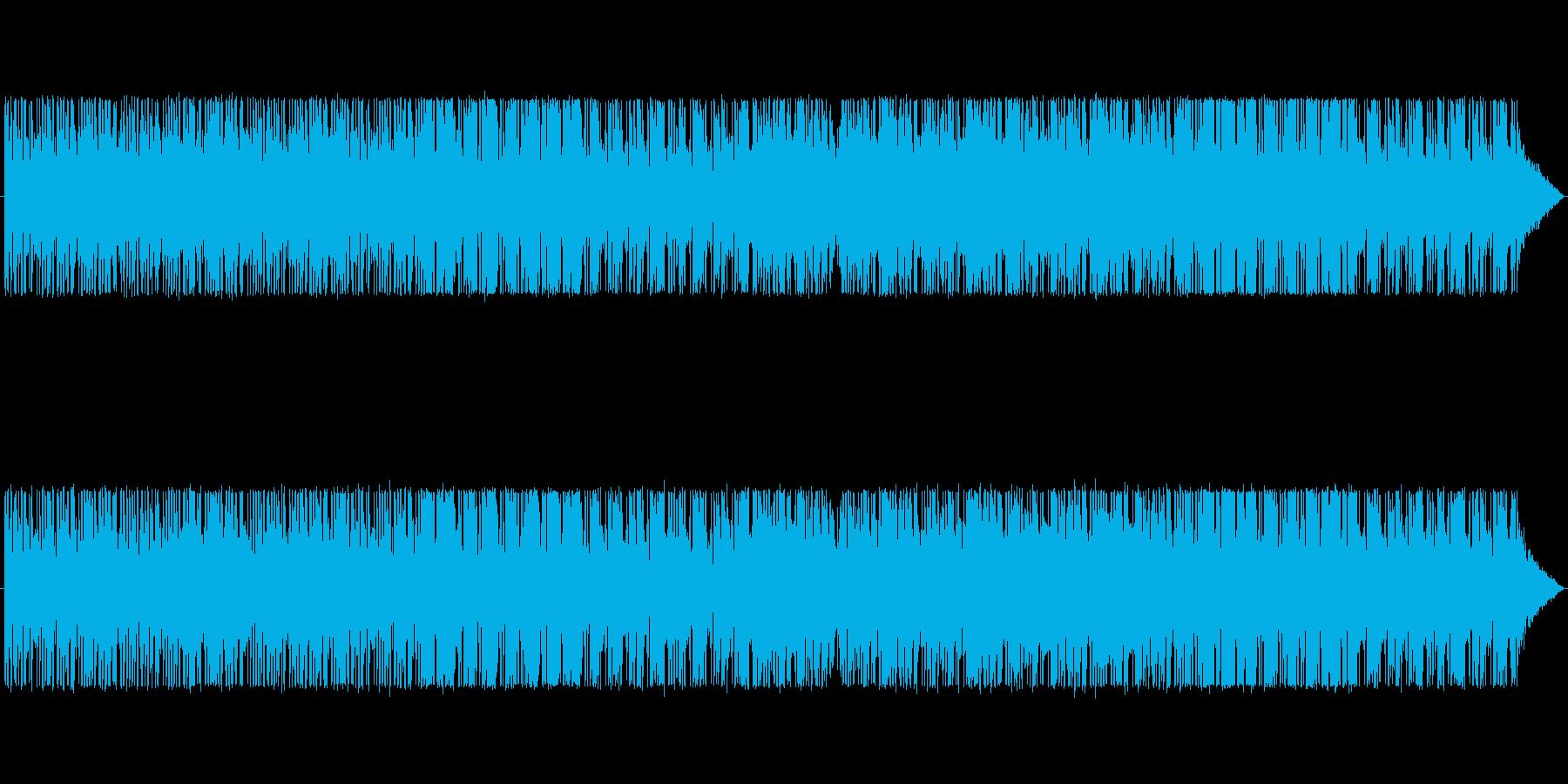 暗く不穏なR&B風BGMの再生済みの波形