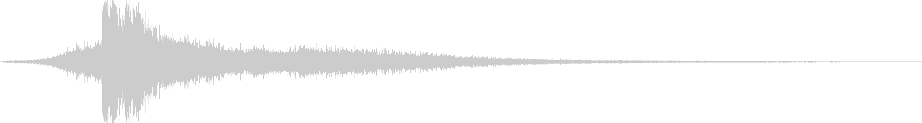 放電2 (キュイーン…バシューンゴロゴ…の未再生の波形