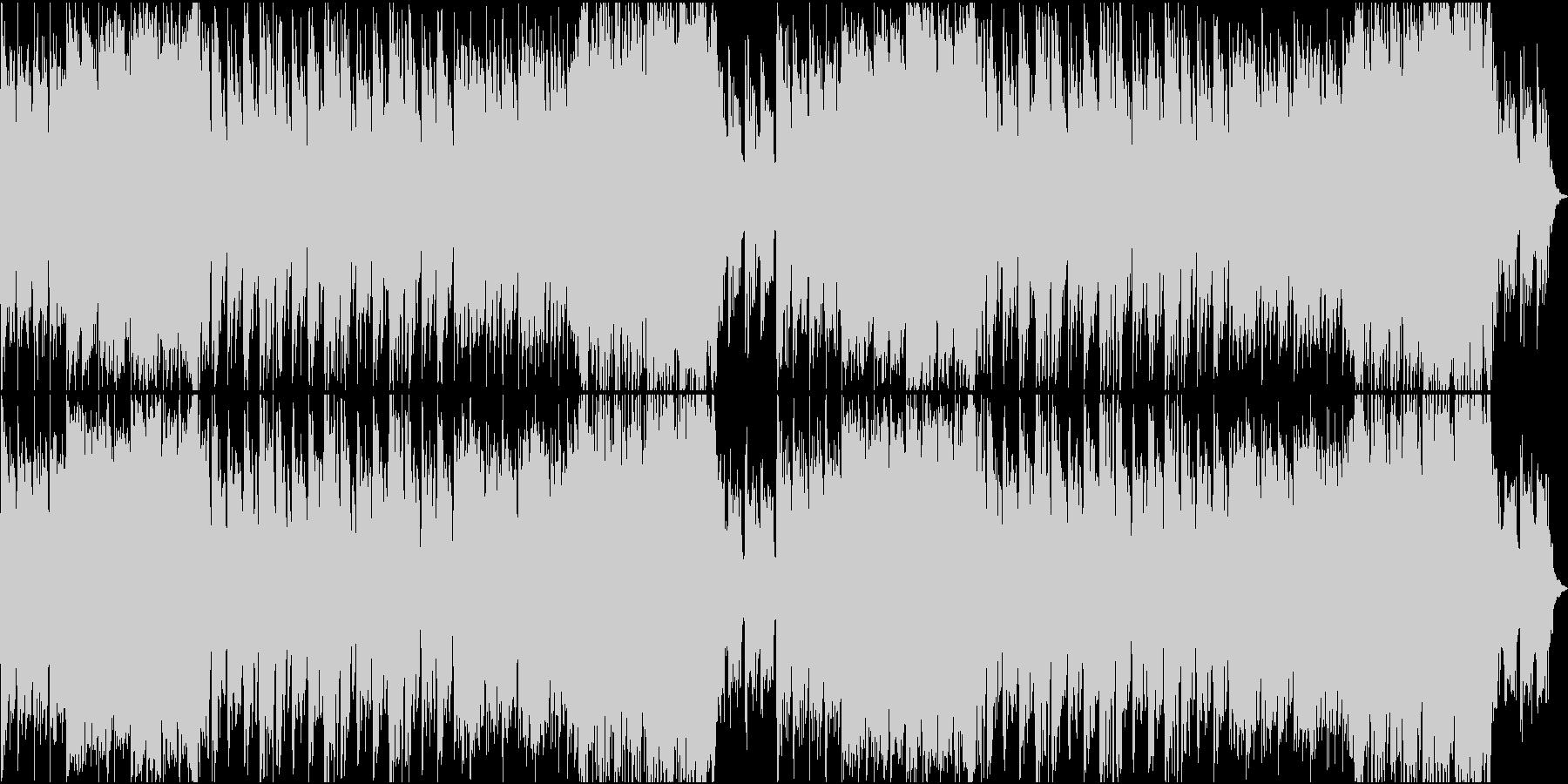 ゲーム/ダークで威圧感のあるオケ曲の未再生の波形