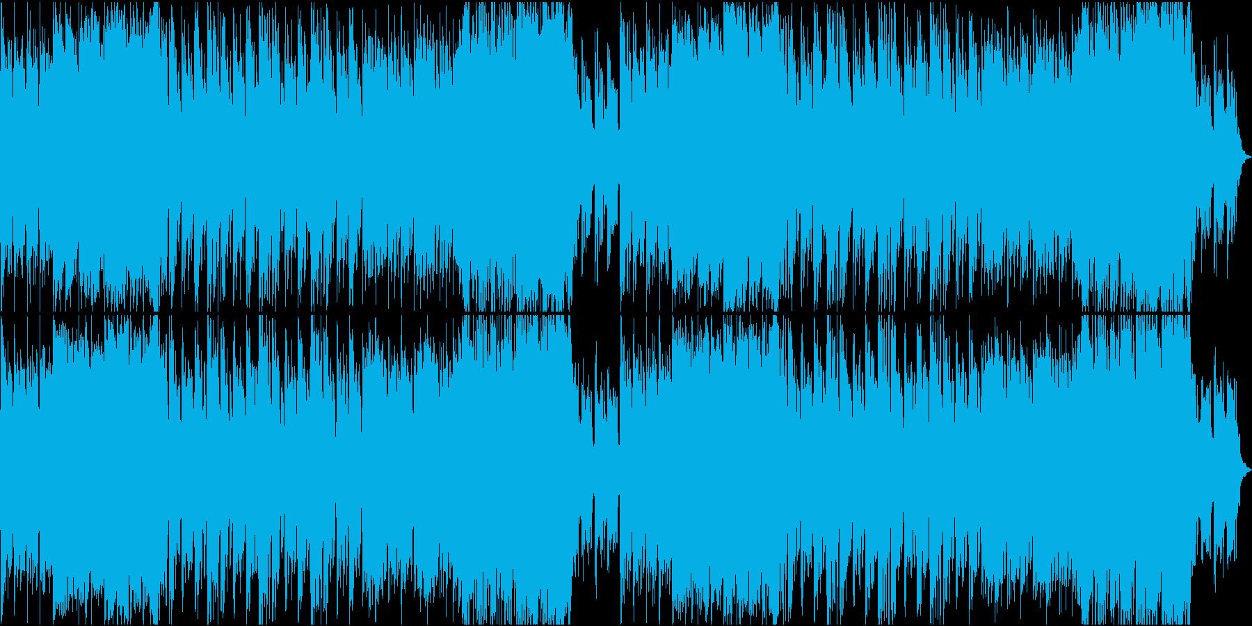 ゲーム/ダークで威圧感のあるオケ曲の再生済みの波形