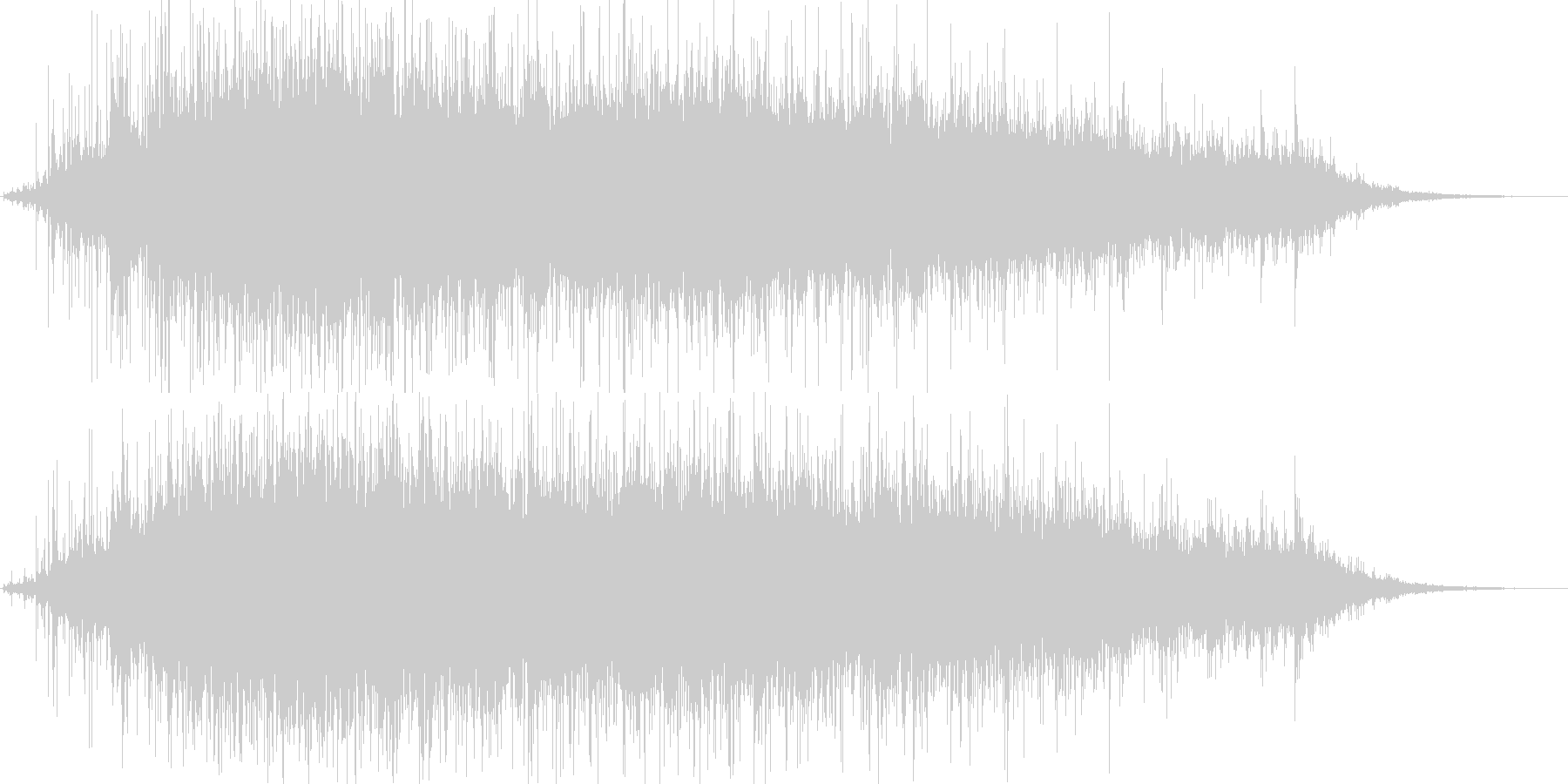 147拍手 パチパチパチ♪ホールや会場の未再生の波形